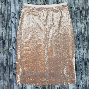 Down east sequin pencil skirt